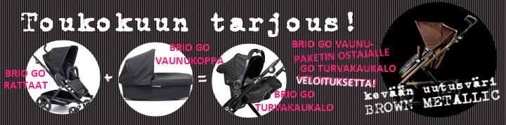 BRIO Go tarjous