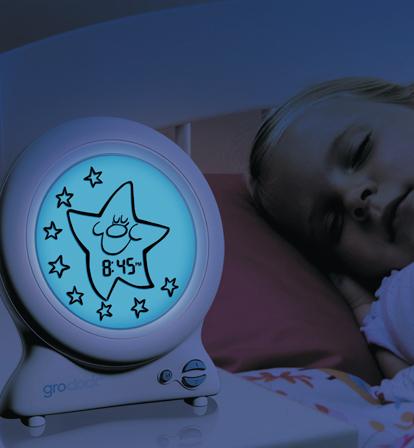Gro-Clock kello pienille lapsille