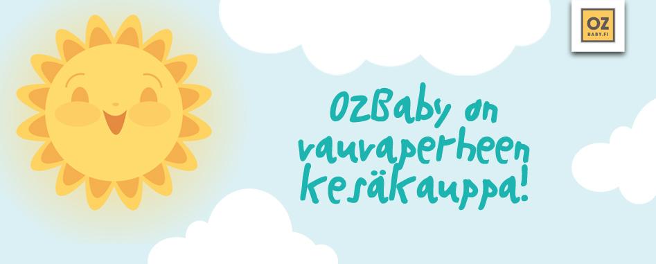 Lastentarvikeliike OzBaby on vauvaperheen kesäkauppa!